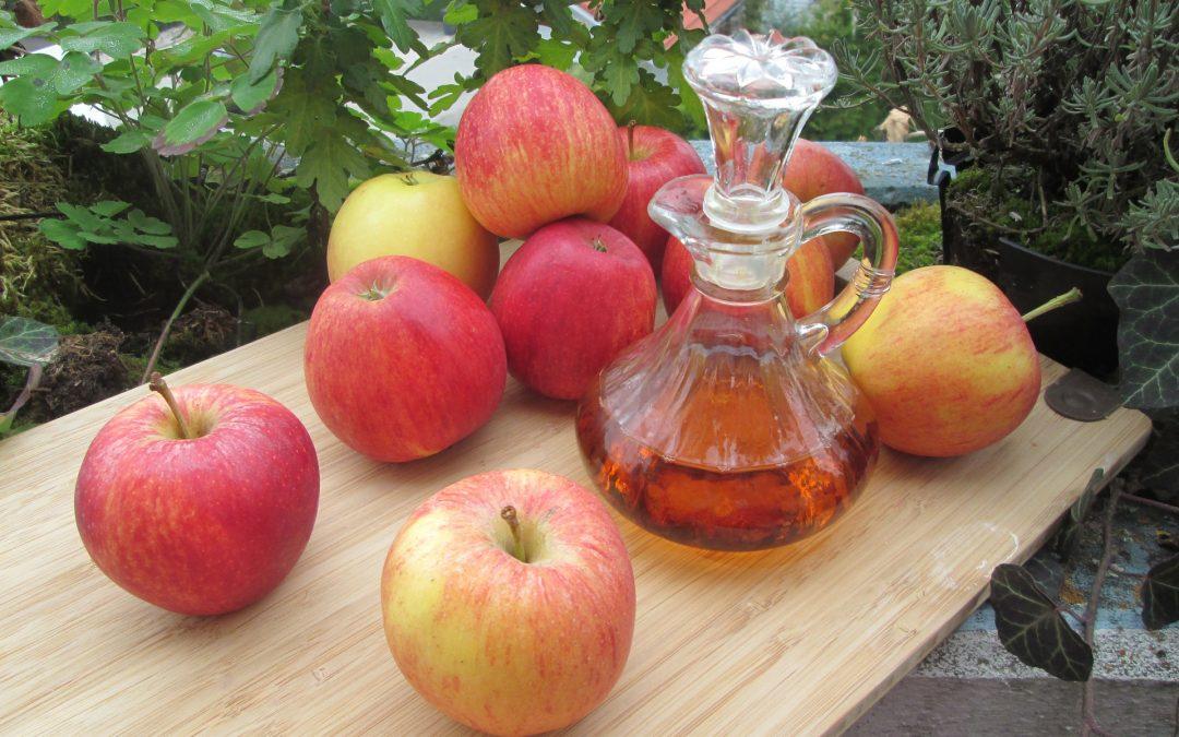 Propiedades medicinales del vinagre de manzana
